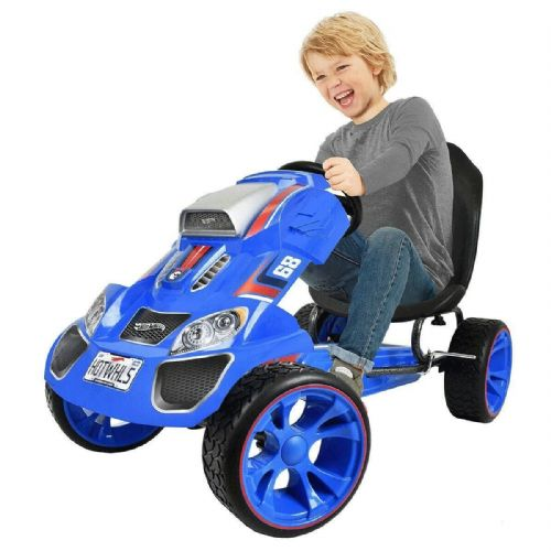 HAUCK Hot Wheels XL Pedal Go-Kart Ride-On (4-12 Years)